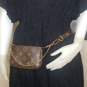 LOUIS VUITTON PALLAS / METIS HOBO MONOGRAM STRAP